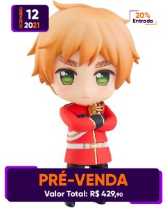 [Pré-venda] Nendoroid #1621 Hetalia World Stars: UK