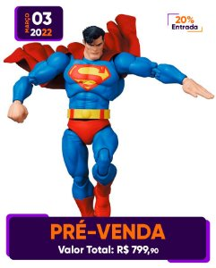 [Pré-venda] Mafex #161 DC Comics: Superman [The Dark Knight Returns]
