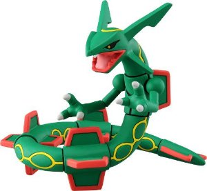 Pokémon MonCollé EX EHP-10 Rayquaza Original