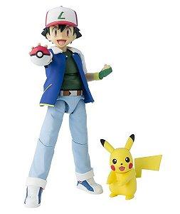 SH Figuarts Pokémon Ash Ketchum (Satoshi) Bandai Original