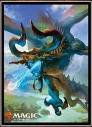 "Magic: The Gathering Player's Card Sleeve ""Basic Set 2019"" Nicol Bolas, the Ravager Pack"