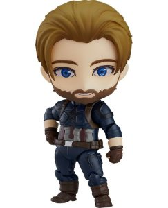 Nendoroid #923-DX - Avengers: Infinity War - Captão América [Original Good Smile]