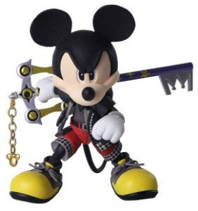 Kingdom Hearts III - Bring Arts - The King (Mickey) -Original-