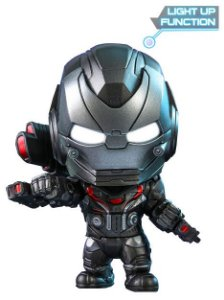CosBaby Vingadores: Ultimato War Machine [Efeito Luz u.v.a]