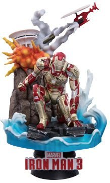 "D-Stage #016 ""Homem de Ferro 3"" Iron Man Mark. 42 -Original-"