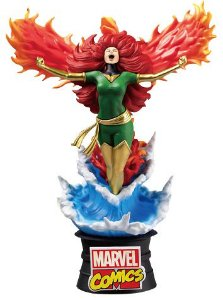 """D-Stage #022 """"Marvel Comics"""" Fênix Negra [Phoenix] -Original-"""