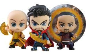 CosBaby Dr. Strange & Ancient One & Wong - Vingadores: Ultimato [Original Hot Toys]