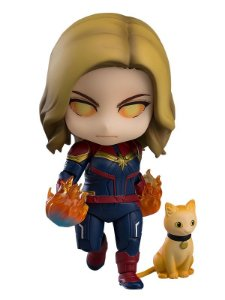 Nendoroid #1154-DX - Captain Marvel - Captain Marvel Hero's Edition -Original-