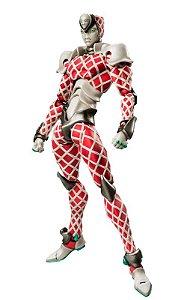 [Estoque No Japão] Super Action Statue JoJo's Bizarre Adventure Parte V: King Crimson [K,C]