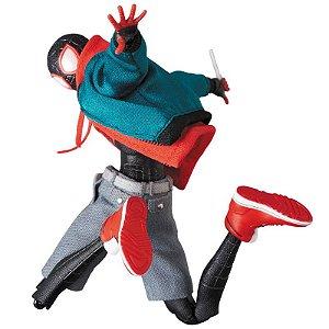 *Pré-Venda* (10% de ENTRADA) Mafex #107 Homem Aranha Miles Morales No Aranhaverso [Original Medicom Toy]