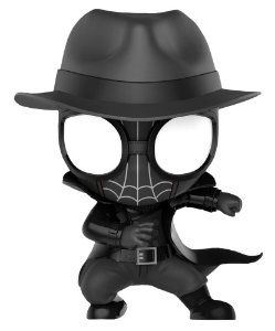 CosBaby Spider-Man Noir - [Spider-Man into the Spider-Verse - Original Hot Toys]
