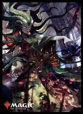 Magic: The Gathering -Card Sleeve- Vraska, Swarm's Eminence -Original-