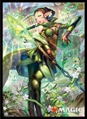 Magic: The Gathering -Card Sleeve- Nissa, Who Shakes the World -Original-