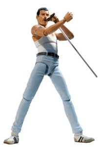 [Estoque No Japão] S.H.Figuarts Freddie Mercury LIVE AID
