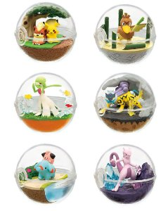 Pokemon Terrarium - Coleção Nº 7 - Original