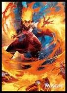 Magic: The Gathering -Card Sleeve- Chandra, Fire Artisan -Original-