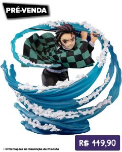 *Pré-venda* [10% de ENTRADA] Figuarts ZERO - Kamado Tanjiro -Breath of Water- [Original]