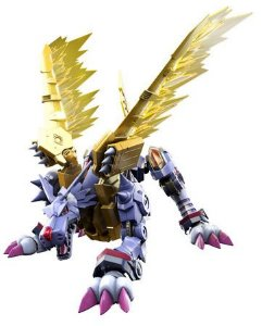 [Estoque No Japão] Figure-rise Digimon: Metal Garurumon