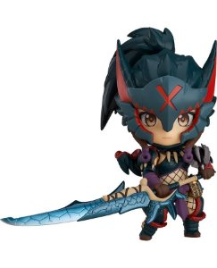 Nendoroid #1284 Monster Hunter World: Iceborne - Hunter Female [Nargacuga Alpha Armor]
