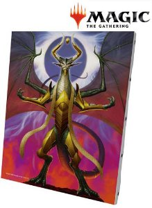 [Quadro/Tela] Magic The Gathering Canvas Board - Nicol Bolas, Dragon-God
