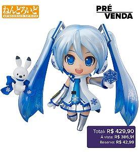 *Pré-venda* [10% de ENTRADA] Nendoroid #1319 - Snow Miku 2.0 - Character Vocal Series 01: Hatsune Miku [Original]
