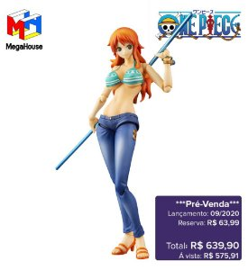 DUPLICADO - *Pré-venda* [10% de ENTRADA] One Piece - Nami Variable Action Heroes (2º Relançamento) [Original]