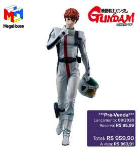 *Pré-venda* [10% de ENTRADA] Mobile Suit Gundam: Char's Counterattack - GGG Amuro Ray [Original]