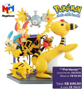 *Pré-venda* [10% de ENTRADA] Pokemon - G.E.M.EX Series Electric Type Power! [Original]