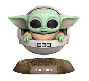[Estoque No Japão] CosBaby The Mandalorian: The Child [Floating Pod Edition]