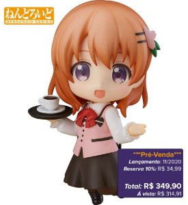 *Pré-venda* [10% de ENTRADA] Nendoroid #798 - Is the order a rabbit? Cocoa [Original]