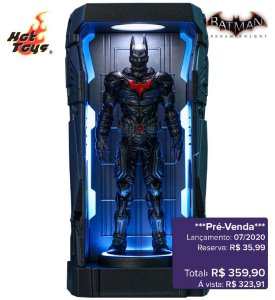 *Pré-venda* [10% de ENTRADA] Batman: Arkham Knight Series 1 - Batman Beyond -Miniature Collectible- [Original]