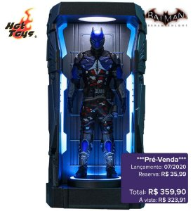 *Pré-venda* [10% de ENTRADA] Batman: Arkham Knight Series 1 - Batman Arkham Knight -Miniature Collectible- [Original]