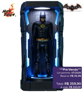 *Pré-venda* [10% de ENTRADA] Batman: Arkham Knight Series 1 - Batman 1989 -Miniature Collectible- [Original]