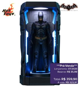 *Pré-venda* [10% de ENTRADA] Batman: Arkham Knight Series 1 - Batman 2008 -Miniature Collectible- [Original]