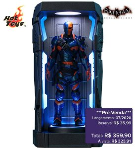 *Pré-venda* [10% de ENTRADA] Batman: Arkham Knight Series 1 - DeathStroke -Miniature Collectible- [Original]
