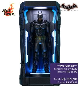 *Pré-venda* [10% de ENTRADA] Batman: Arkham Knight Series 1 - Batman -Miniature Collectible- [Original]