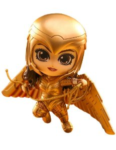 [Estoque No Japão] Cosbaby Wonder Woman 1984 [Gold Armor & Flying]