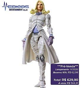 *Pré-venda* [10% de ENTRADA] JoJo's Bizarre Adventure Part.VII - Super Action Statue Funny Valentine [Original Medicos]