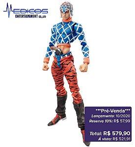 *Pré-venda* [10% de ENTRADA]  JoJo's Bizarre Adventure Part 5: Guido Mista & S.P - Super Action Statue [Original Medicos]