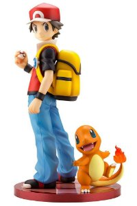 ARTFX J Pokemon: Red & Charmander