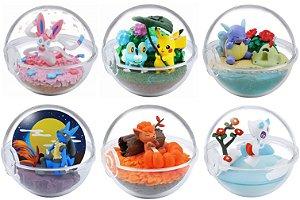 [Estoque No Japão] Pokemon Terrarium: Coleção Four Seasons [Valor Individual]