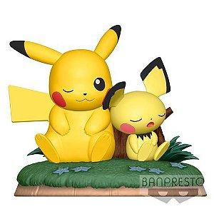 [Estoque No Japão] Pokemon Relaxing Time: Pikachu & Pichu