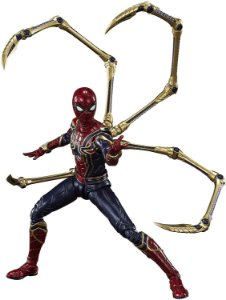 [Estoque No Japão] S.H.Figuarts Vingadores: Ultimato - Iron Spider [Final Battle]