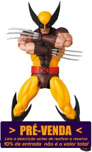 [Reservar: 10% de Entrada] Mafex #138 Wolverine [X-Men - Brown Comic]