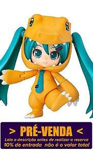 [Reservar PV: 10% de Entrada] Nendoroid #1439 Hatsune Miku Kigurumi [Versão Agumon]