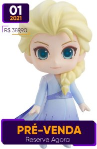 [Reservar PV: 10% de Entrada] Nendoroid #1441 Frozen 2: Elsa [Blue dress]