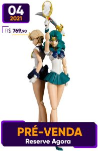 [Reservar PV: 10% de Entrada] S.H.Figuarts Sailor Moon S: Neptune + Uranus [Animation Color Edition]