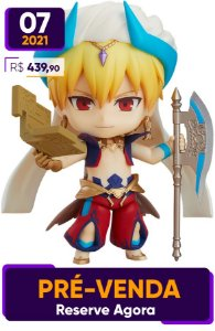 [Reservar PV: 10% de Entrada] Nendoroid 990-DX Fate/Grand Order Caster/Gilgamesh Ascension