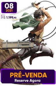 [Reservar PV: 10% de Entrada] ARTFX J Attack on Titan: Eren Yeager [Renewal Package]