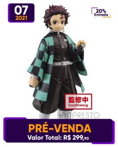 [Pré-venda] Demon Slayer: Tanjiro Kamado [Grandista]